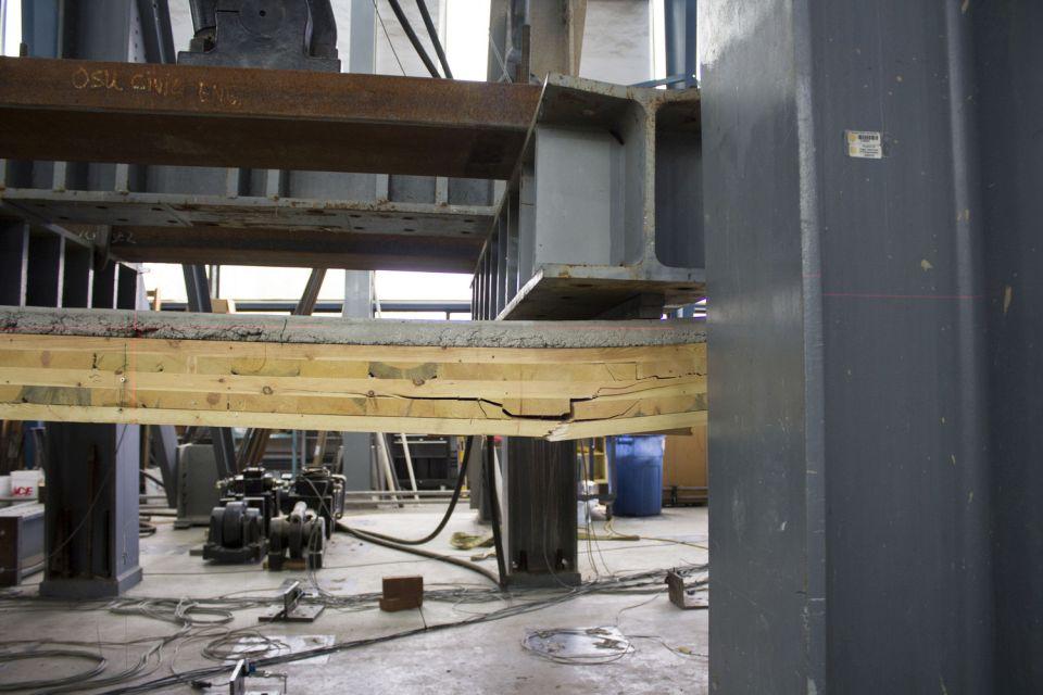 Spregnuta konstrukcija za drvene nebodere uspešno prošla ispitivanja