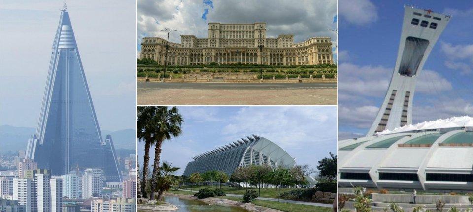 10 preskupih i nepotrebnih zgrada širom sveta