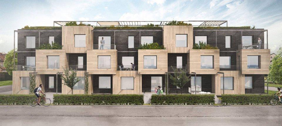 Linden House: U Novom Sadu niče zgrada prilagođena prirodi