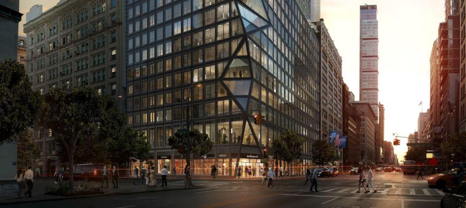 OMA predstavila svoju prvu stambenu višespratnicu u Njujorku