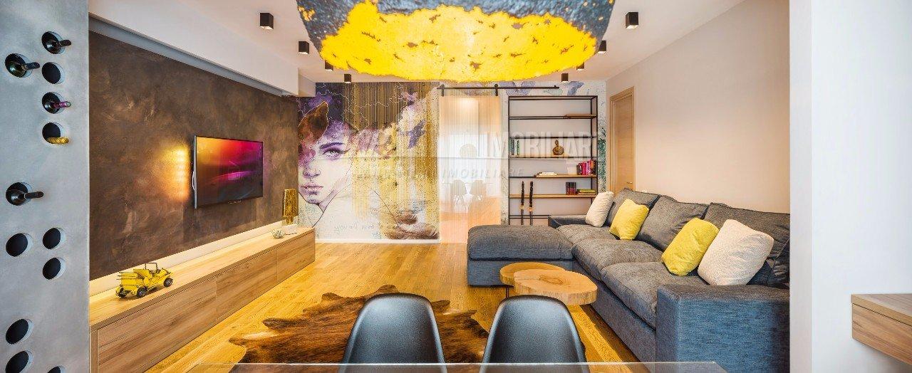 Koloritni enterijer dvosobnog stana u Bukureštu