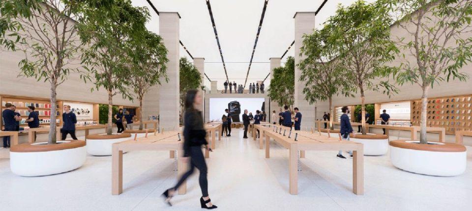 Kako je Foster redizajnirao Apple prodavnicu u Londonu