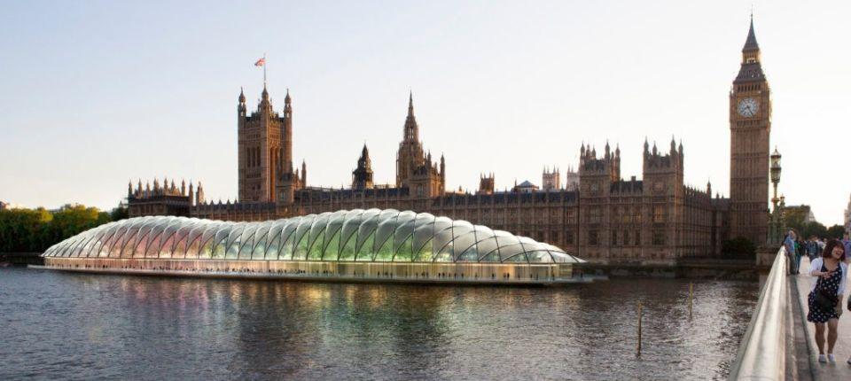 Parlament Ujedinjenog Kraljevstva uskoro će plutati na vodi