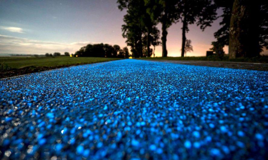 Biciklistička staza koja prikuplja energiju danju da bi svetlela noću