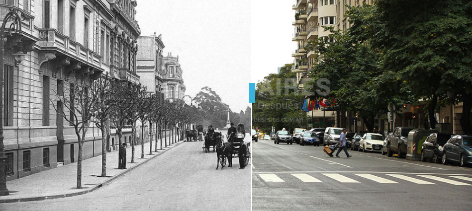Pre i posle: Interaktivne fotografije urbanog pejzaža Buenos Airesa