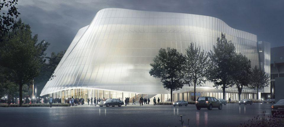 U Pekingu se gradi prozirna zgrada filharmonije