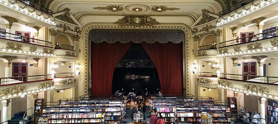 U poseti argentinskom pozorištu koje je pretvoreno u impresivnu knjižaru