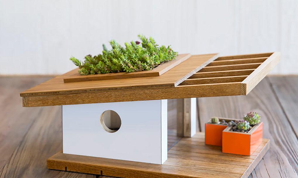 Crep u obliku kućice za ptice