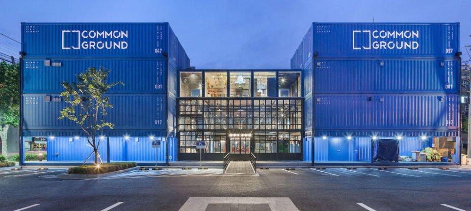 Tržni centar napravljen od 200 transportnih kontejnera