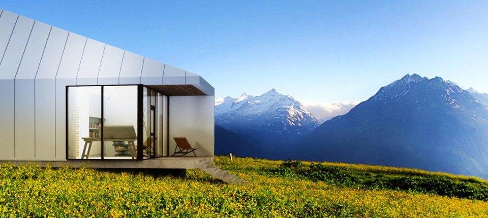 Hibridna kuća u Austriji sublimira klasičnu i modernu arhitekturu