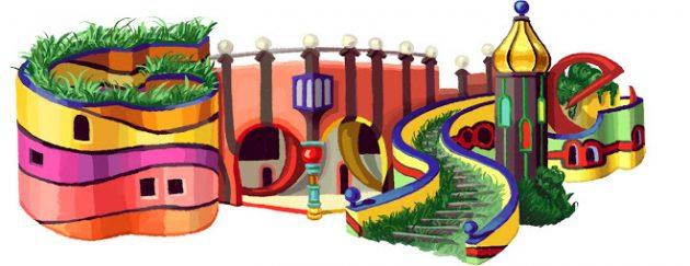google-doodle-hundertwaser