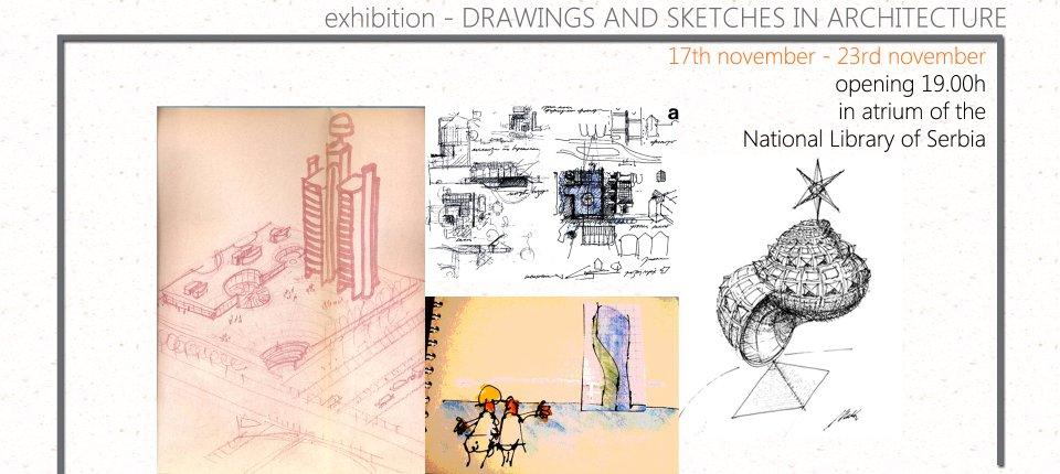 Jesu li arhitektonski crteži i skice prevaziđene? Saznajte na ovoj izložbi!