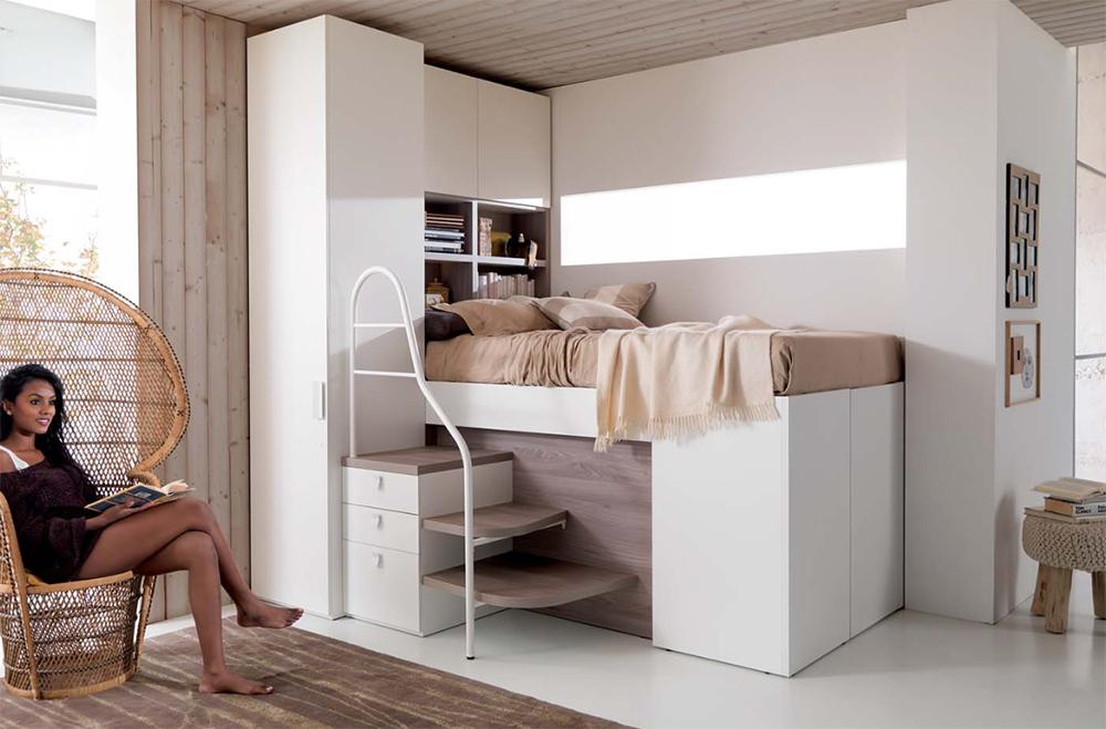 Rešenje za male sobe: Odlaganje stvari ispod kreveta