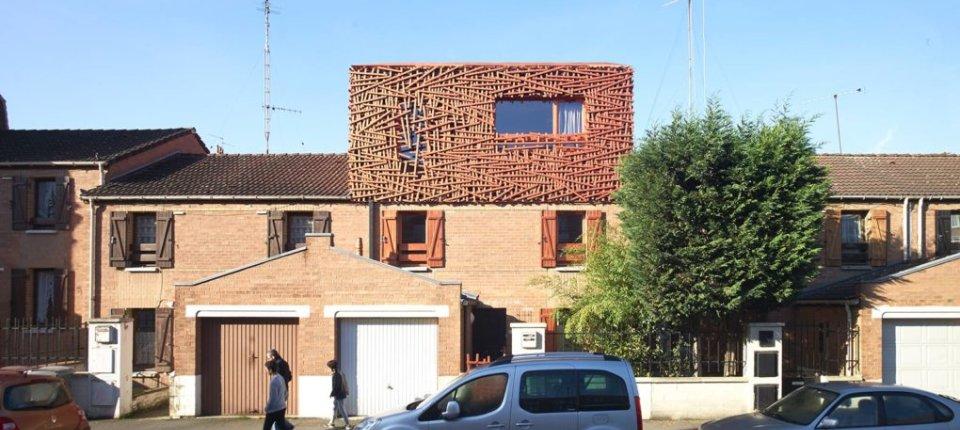 Kuća na kući: Nadogradnja u obliku ptičijeg gnezda