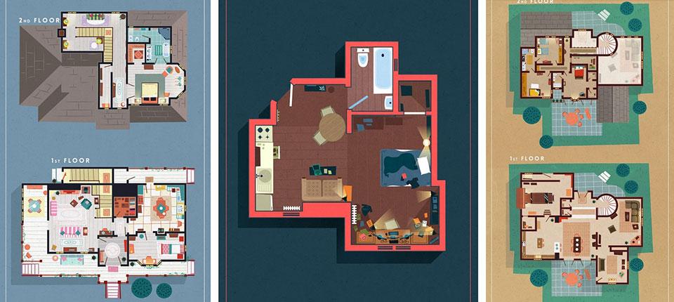 Osnove stanova iz TV serija koje ste voleli