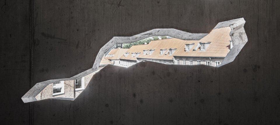 Pukotine na fasadi novog objekta u Danskoj nisu slučajne
