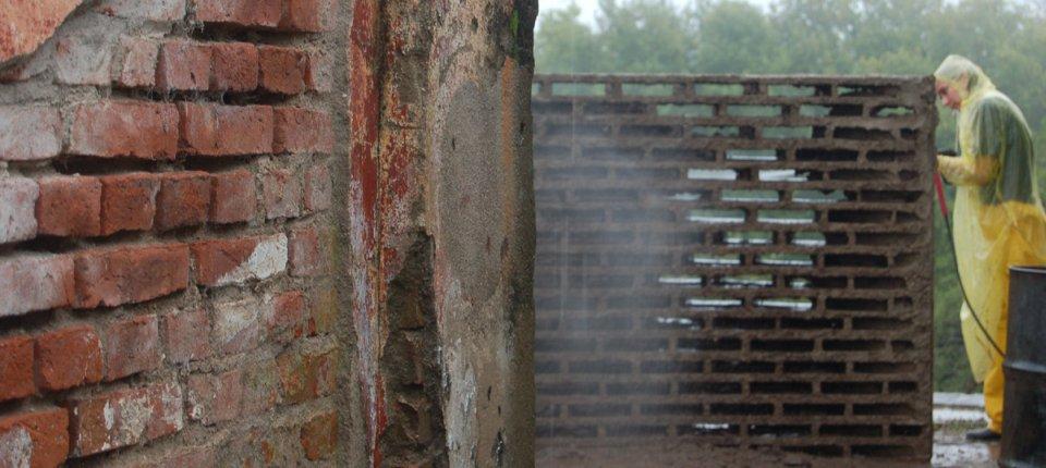 Pogledajte kako izgleda zidani zid bez opeke