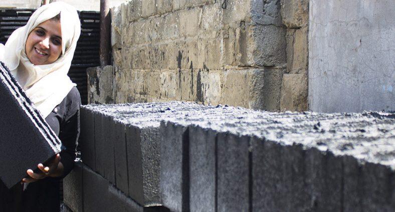 Građevinski materijal nastao od ratnih ruševina u Gazi