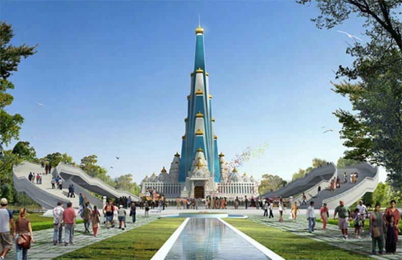 Počela izgradnja najvišeg verskog objekta na svetu