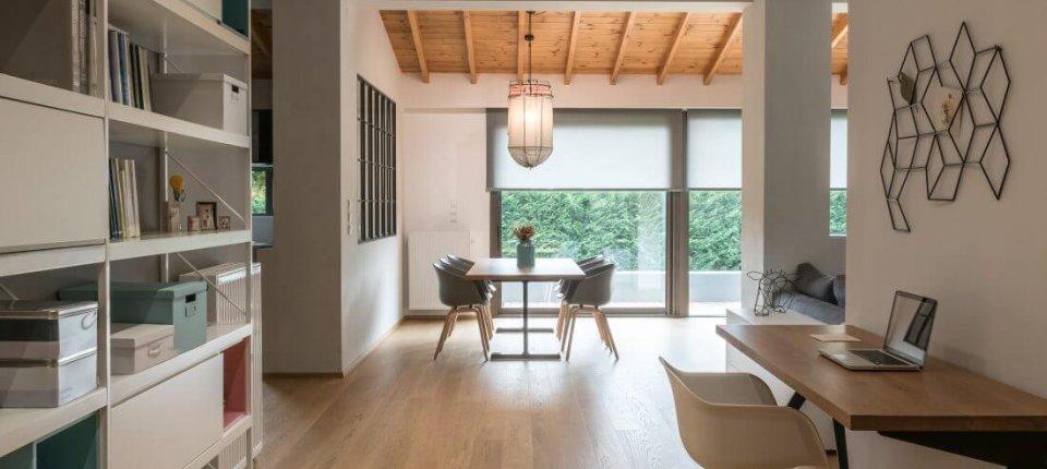 Enterijer apartmana u Grčkoj inspirisan Skandinavijom