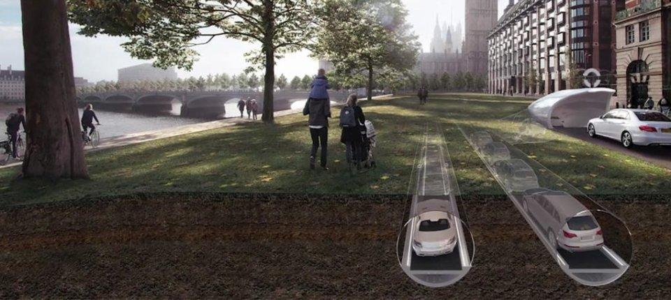 Za ulice bez automobila: Vozila koja se kreću u podzemnim tubama