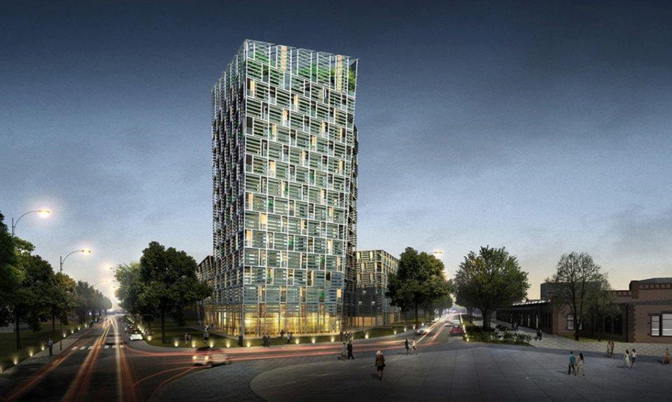 Kula na baterije: Gradi se stambena zgrada inspirisana električnim automobilima