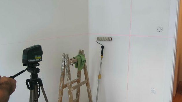 Izvlačenje vertikale laserom