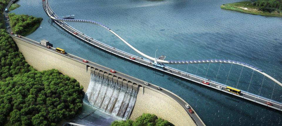 U Hong Kongu se gradi most inspirisan repom zmaja