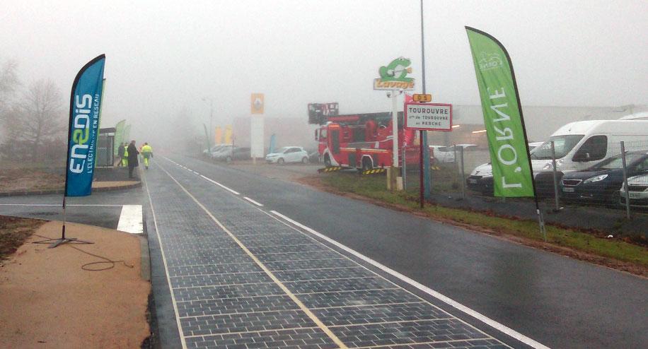 Francuzi zvanično otvorili prvi solarni put na svetu
