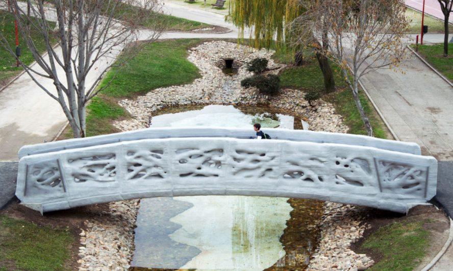 Ovo je prvi na svetu 3D odštampani pešački most
