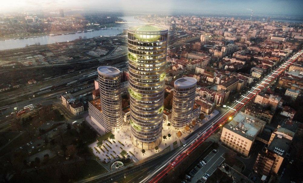 Skyline Belgrade: Kako će izgledati novi kompleks kod Mostarske petlje