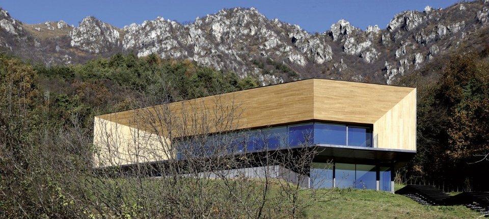 Pasivna kuća u Alpima sa zidovima debelim 65 centimetra