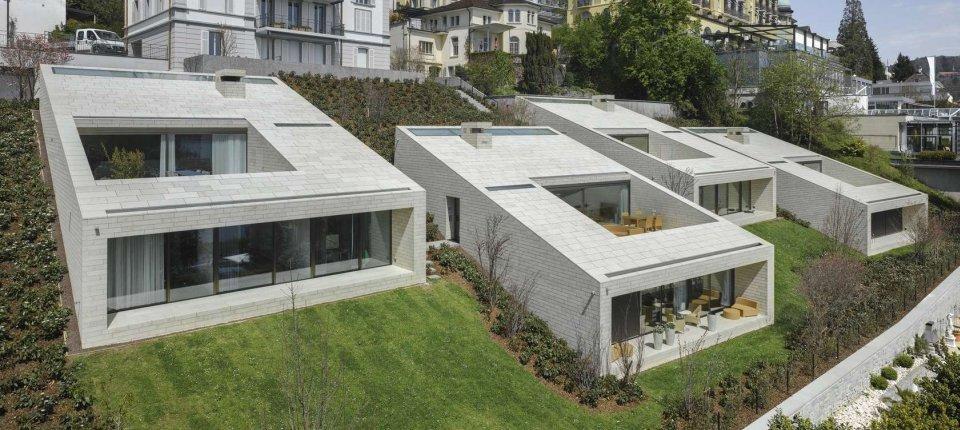 Nenametljive vile na obali jezera u Lucernu