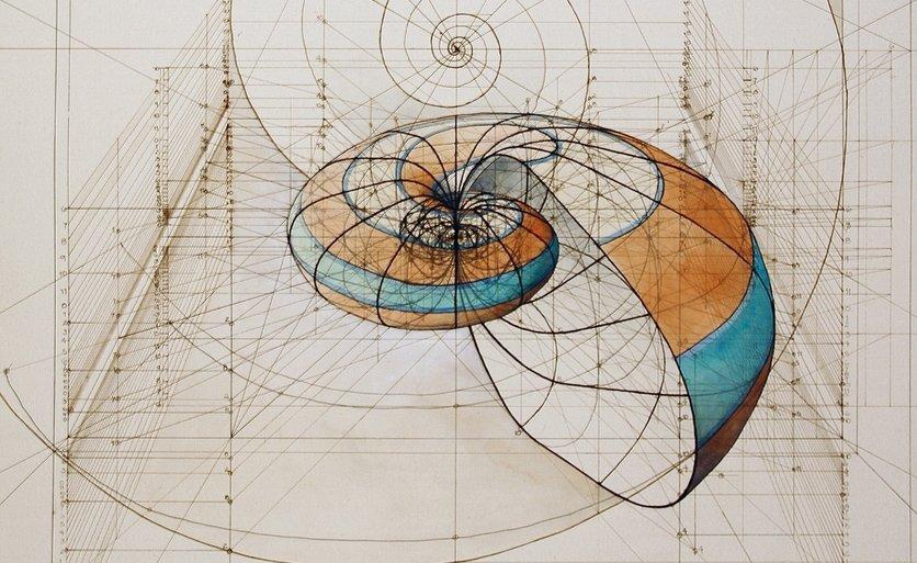 Ovaj arhitekta spaja umetnost i nauku kroz crteže od zlatnih preseka