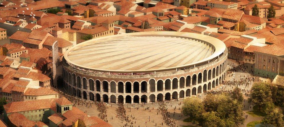 Arena u Veroni dobija suptilni pokretni krov