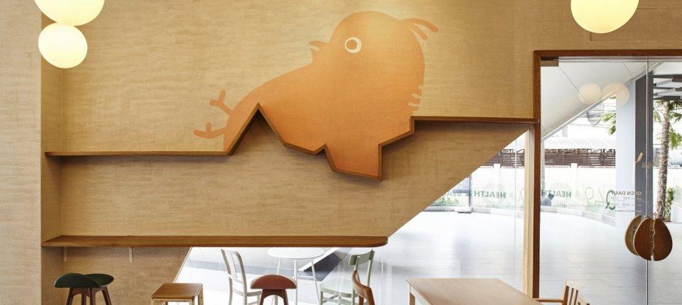 Kako je slomljena ljuska jajeta poslužila kao inspiracija za dizajn jednog kafića