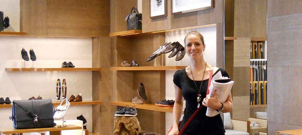 Đurđa Milutinović dizajnira enterijere prestižnih modnih butika