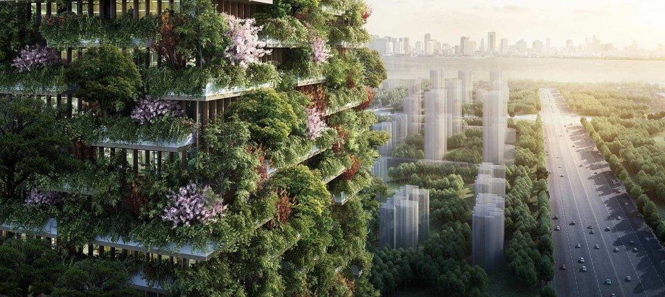 U borbi protiv zagađenja: Gradi se prva vertikalna šuma u Aziji