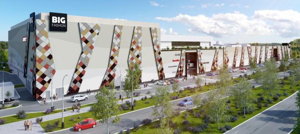 Ovako će izgledati tržni centar BIG Fashion u Beogradu