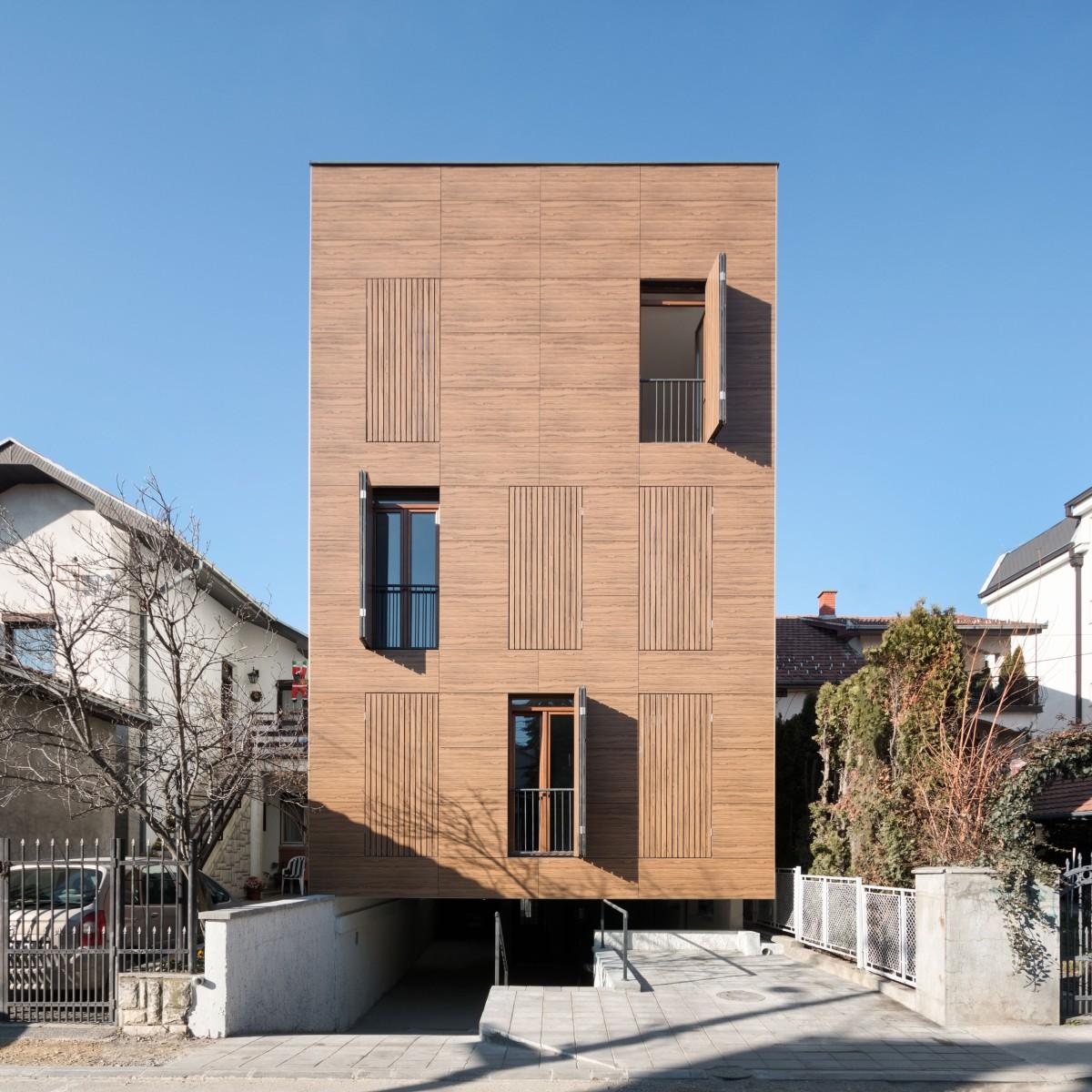 mapa kragujevca sa objektima Inovativna zgrada u Kragujevcu koja negira kontekst ulice mapa kragujevca sa objektima