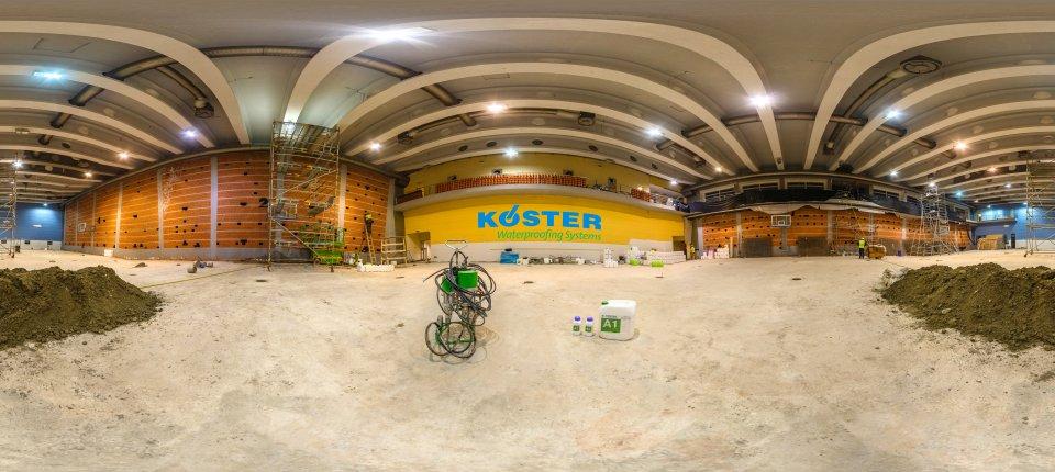 Kako je sanirana Mala sala Kombank Arene za Evropsko atletsko prvenstvo