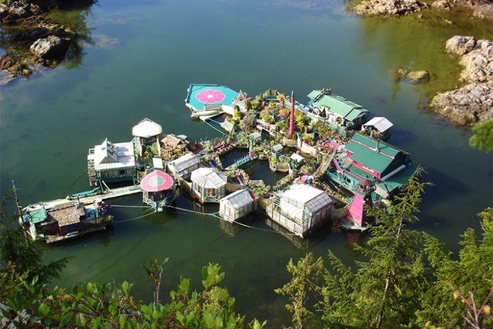 Ovako izgleda plutajuće ostrvo koje je napravljeno ručno