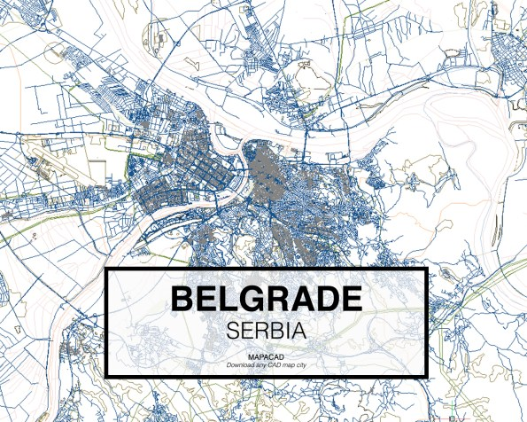 Mapa Beograda Download Superjoden