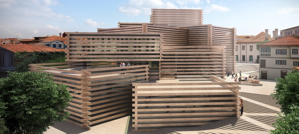 Drveni muzej Kenga Kume gradi se u Turskoj