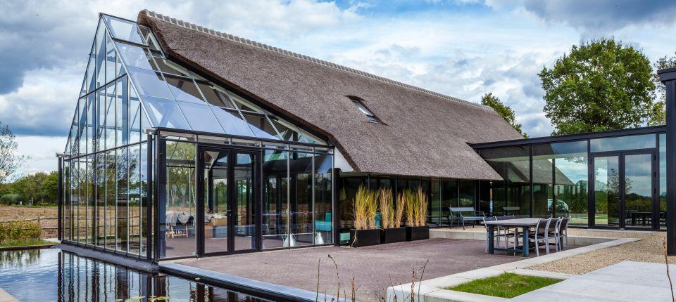 Ovo je školski primer spajanja tradicionalne i moderne arhitekture