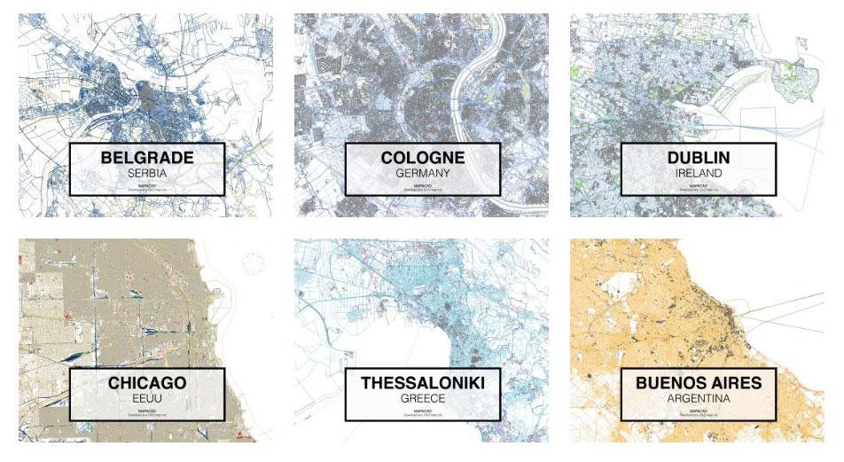 Beograd u DWG-u: Skinite mape svetskih gradova u visokoj rezoluciji