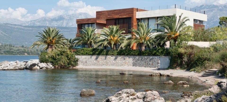 Vila u Tivtu: Kada se arhitektura i enterijer spoje u jedno