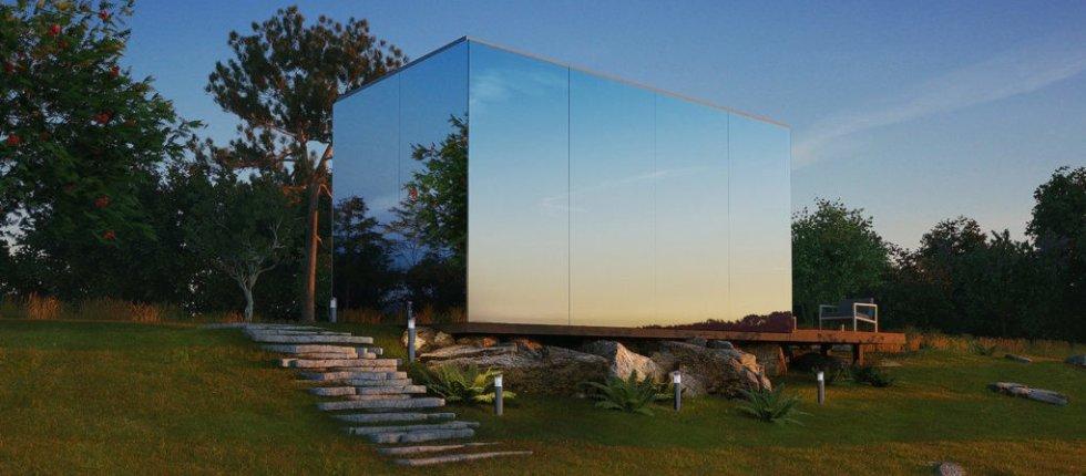 Ova staklena kuća može biti podignuta za samo 8 sati