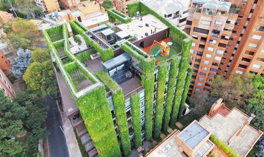 Najveća vertikalna bašta na svetu izgrađena u Bogoti