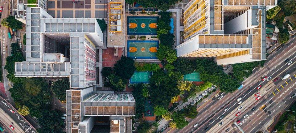 Foto dana: Prenaseljeni Hong Kong iz ptičije perspektive